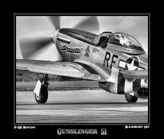 Gunslinger 51 | P-51D Mustang at MCAS Miramar | blackheartart | Flickr