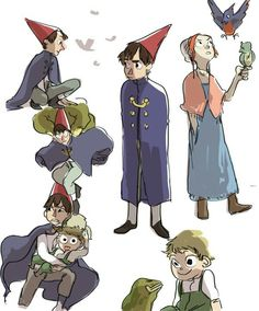cogo:  i have a very short very selective list of things in this world i was born to enjoy and after 10 seconds of deliberation otgw made the cut | Over the Garden Wall