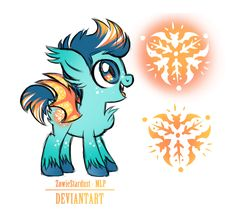 Custom Pony Commission for RevkaHunt by ZowieStardust-MLP on DeviantArt