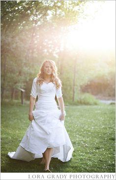 Understated Elegance - Modest Wedding Gown