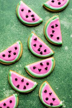 Watermelon Sugar Cookies + Video - Sallys Baking Addiction