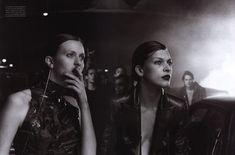 Photos Peter Lindbergh, Vogue IT - L.A. Report- October 2000
