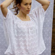 Boho chic... love long layers of necklaces on a flowy white blouse!  #sorrellisparkle #bohobliss #summer13