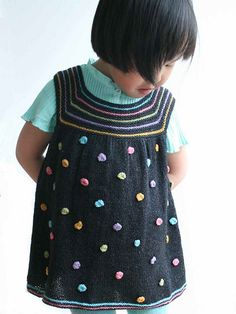 Ravelry: Mari's dress pattern by Sanne Bjerregaard