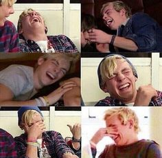 You know how happy I am that I'm not the only one that laughs so hard they cry?! I always thought it was just me but nope!!! *Malorie*