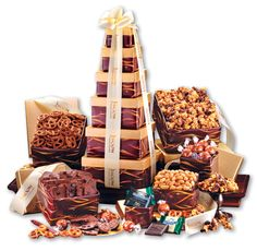 The Gift Planner has unique custom gifts, giveaways and promotional products for any industry! - The Gift Planner's Online Store Sea Salt Caramel, Caramel Corn, Corporate Gift Baskets, Corporate Gifts, Love Chocolate, Chocolate Lovers, Seasoned Pretzels, Brownie Brittle, Ghirardelli Chocolate