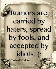 Truth truth truth....
