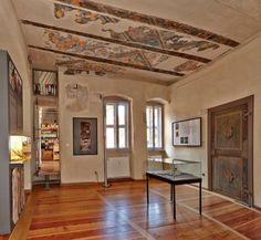Das Cranach-Haus Markt 4 beherbergt eine Ausstellung zu Leben und Werk der Malerfamilie.