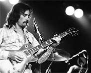 """I'm the famous guitar player,"" late Duane Allman said, ""but Dickey is the good one."" The two spent less than 3 years together in the Allman Brothers Band, but they established an epic rapport–jamming at length/trading solos/playing their famous twin-guitar leads. After Allman's death in '71, the group continued w/Dickey Betts."