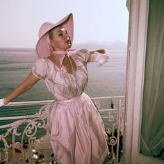 Zsa Zsa Gabor photographed at Cannes in 1959