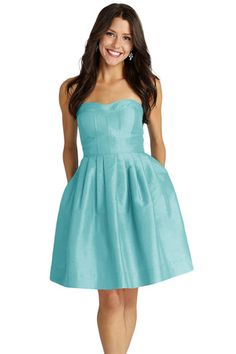 Shop Donna Morgan Quick Delivery Style - Madison in Shantung at Weddington Way. Find the perfect made-to-order bridesmaid dresses for your bridal party in your favorite color, style and fabric at Weddington Way.