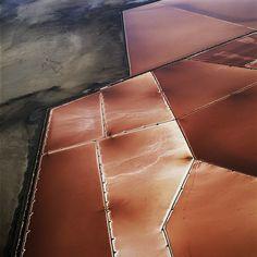 Copper | 銅 | Cobre | медь | Cuivre | Rame | Dō | Metal | Mettalic | Colour | Texture | Pattern | Style | Form | Aerial Pictures by David Maisel