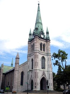 Lovely Cathedral in Trois Rivières, Québec. O Canada, Canada Travel, Saint Lawrence River, Canadian Nature, Trois Rivieres, Cathedral Basilica, Quebec City, Water Tower, Chapelle