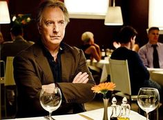 """2010 - Alan Rickman as 'Him' in """"Song of Lunch."""""""