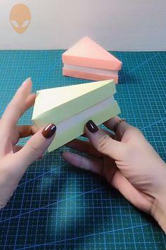 Pretty And Amusing Origami Ideas - DIY Tutorials Videos Cute Origami, Origami Ideas, Useful Origami, Origami Box, Easy Paper Crafts, Paper Crafts Origami, Diy Crafts For Gifts, Diy Arts And Crafts, Diy Christmas Hats