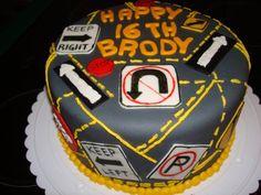 Sixteen Boy Birthday Cake 16 Yr Old Boys Cake