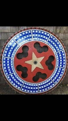 Carnival Gaming Wheel 1940s Huge H C Evans Star And Dice