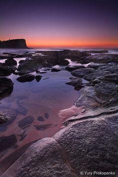 Calm Morning | Avalon Beach, Sydney, Australia by Yury Prokopenko