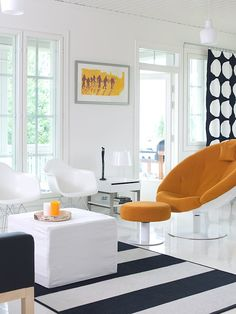 Modern living room   Kannustalo Aurora