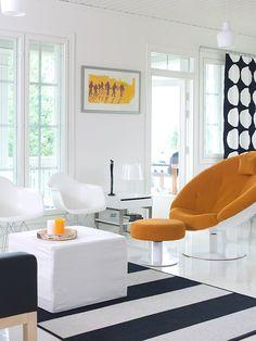 Modern living room | Kannustalo Aurora