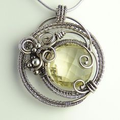 Lemon Quartz Dreamcatcher Necklace | Samantha Braund | Flickr