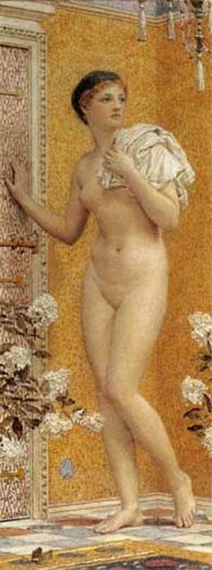 The Yellow Room by Albert Moore