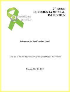 Third Annual Loudoun Lyme 5k Run Walk And 1m Fun The 3rd