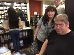 Ben Aaronovitch signing his latest book 'Whispers Under Ground'. 29th June 2012
