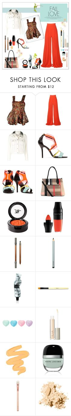 """Fall in Love"" by onenakedewe ❤ liked on Polyvore featuring Marni, Elie Saab, 3.1 Phillip Lim, Pierre Hardy, Diophy, Beauty Is Life, Lancôme, Clarins, Laura Mercier and Aesop"