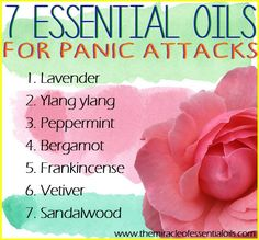 Calm yourself naturally using one or more of these essential oils for panic attacks. What are Panic Attacks? Increased heart rate, hyperventilation, heart-pounding terror…you know the drill – a panic attack's coming on. According to the National Institute of Mental Health, about 2.4 million Americans aged between 18 to 54 have a panic disorder. When …