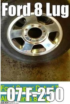 Barter Wheels Rims  Ford F-250 Rims For Sale + Small Trailer enclosed. $800.