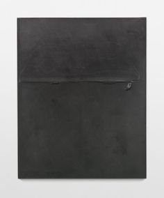 Above The Horizon 1983 Polyvinyl acetate adhesive, graphite pencil, cord, Japanese paper on canvas 162 x 130 x 3.8 cm / 63 3/4 x 51 1/8 x 1 1/2 in