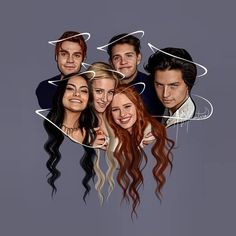 Riverdale cast wallpaper😍 If you come from explore, go and check my account for more posts like this↑ Memes Riverdale, Riverdale Poster, Riverdale Netflix, Bughead Riverdale, Riverdale Funny, Riverdale Tumblr, Riverdale Veronica, Halloween Illustration, Illustration Art
