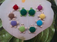 My mini turtles....brooches....my favorite