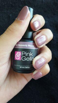 Pink Gellac: Heavenly mauve! ❤ #pinkgellac #pbc