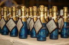 Sherwood Event Hall loves Little Champagne Bottles as Favors or Gifts for the Bridal Party!  #atlanta #catering #atlantabridal #sangeetwedding #weddingcake #eventsbygia #bridalshower #bridalshow #weddingplanning #eventcompany #corporateevent #sherwoodeventhall #food #wedding #atlantawedding #atlantacatering #foodideas #cateringideas #entertaining #atlantavenues #entertainment #partyideas #cateringdisplay #eventstyling #champagne #weddingfavors