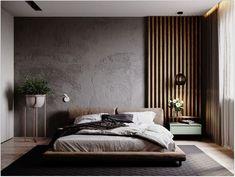 Most popular stunning minimalist modern master bedroom design best ideas 9 bedroom ideas Luxury Bedroom Design, Modern Master Bedroom, Master Bedroom Design, Home Decor Bedroom, Bedroom Wall, Home Interior Design, Bed Room, Master Bedrooms, Bedroom Furniture