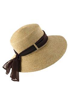 3a59f56969b Our Tropicana Womens Sun Visor Hat sports an asymmetrical brim that s extra  deep around your face