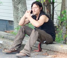 Georgia is getting ready for TWD to start filming 5/4/15