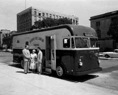 Madison Public Library Bookmobile | Photograph | Wisconsin Historical Society