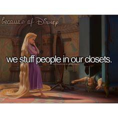 Because of Disney...