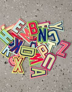 Alphabet patches - Other - Bershka United Kingdom