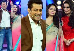 Salman Khan, Madhuri Dixit Set The 'Bigg Boss 7′ Stage On Fire!