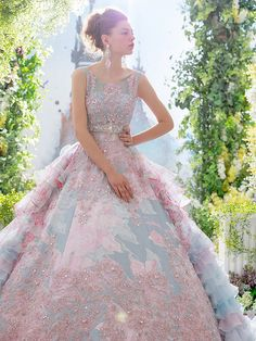 Colorful Wedding Dresses by Stella De Libero @Maysociety
