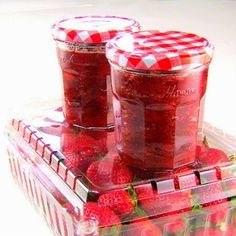 One Perfect Bite: Rhubarb-Strawberry Jam More