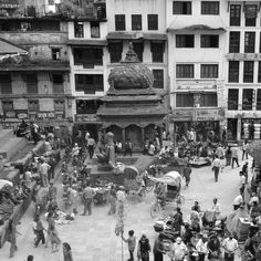 Main square, Kathmandu, Nepal.  The Land of the Himalayas, Nepal, destroyed by the catastrophic earthquake.  All prints are limited edition and will be sold for INR 2000 ($30). Proceeds will be donated to ActionAid, Nepal.  #DonateForEarthquakeReliefNepal #actionaid #nepal  Photographed by Aleesa Mehra, August 2013.