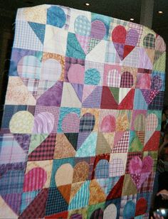 Heart quilt | Flickr - Photo Sharing!