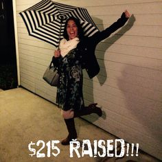 Thank you to everyone who has donated and joined me in fighting against human trafficking!! There are still 9 days left and all donations are tax deductible. http://support.dressemberfoundation.org/nori