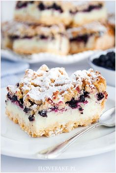 Blueberry Cake, Wonderful Recipe, Coffee Cake, Cake Cookies, Cake Recipes, Sweet Treats, Cheesecake, Food Porn, Food And Drink