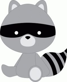 Silhouette Online Store - View Design #44413: raccoon